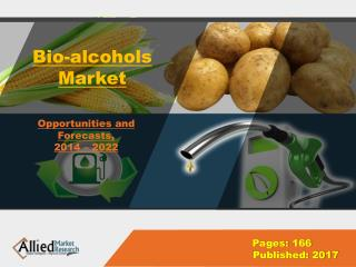 Bioalcohols Market Growth, Trends & Global Industry 2022