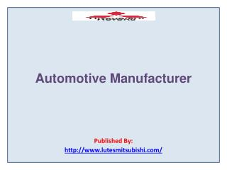 Automotive Manufacturer