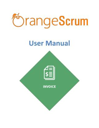 Orangescrum Invoice Add on User Manual