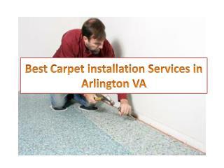 Best Carpet installation Services in Arlington VA