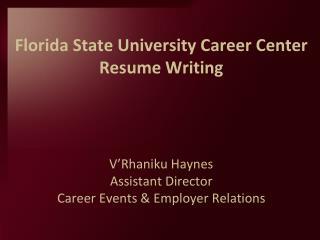 Resume  Cover Letter Writing