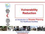 Vulnerability Reduction
