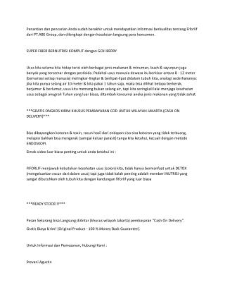 WA 0812-8899-4755 - Harga Fiforlif Grogol Petamburan Jakarta Barat