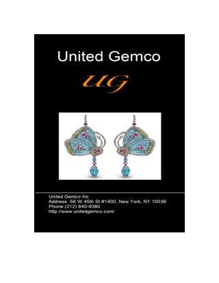 Latest Topaz Earrings at United Gemco