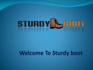 sturdy boot