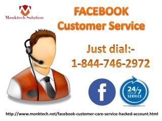 Facebook customer service can be amplified with us via call on 1-888-514-9993
