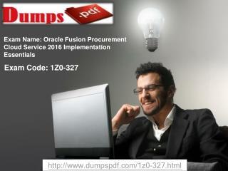 Dumpspdf 1Z0-327 Practice Test