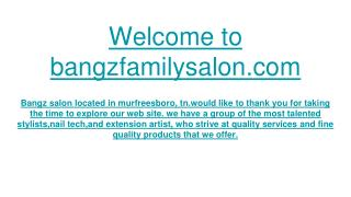 Best Hair & Nail Salon, Pedicures, Manicures and Haircuts Murfreesboro TN
