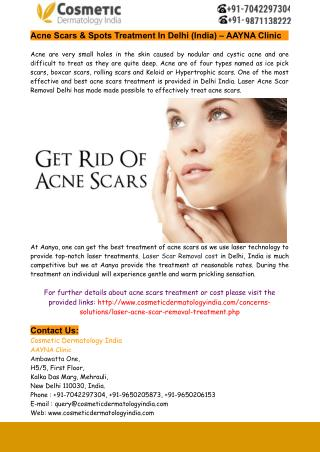 Laser Scar Removal Cost in India