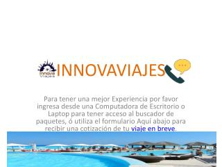 Innova Viajes | Agencia de Viajes en Querétaro