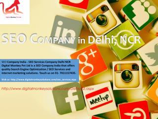 SEO Company India - SEO Services Company Delhi NCR