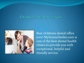 Best Childrens DentalOffice