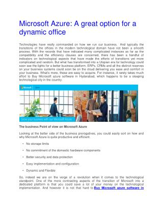 A great option for a dynamic office
