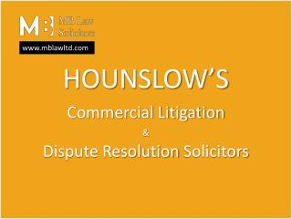 Litigation Lawyers London | Commercial Litigation and Dispute Resolution