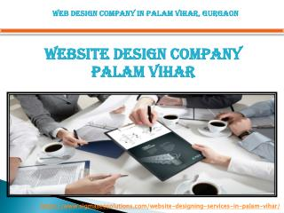 Web Design Services in Palam Vihar, Gurgaon