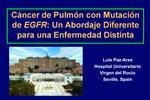 C ncer de Pulm n con Mutaci n de EGFR: Un Abordaje Diferente para una Enfermedad Distinta