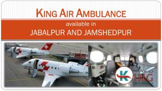 Get Emergency Air Ambulance Services in Jabalpur at Low Cost