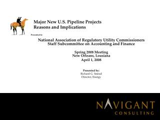 Major New U.S. Pipeline Projects Reasons and Implications