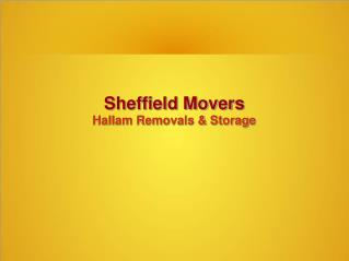 Sheffield Movers