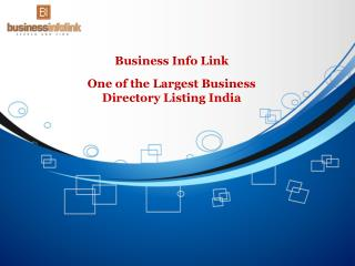 Business Info Link: One of the Largest Business Directory Listing India