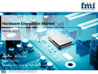 Hardware Encryption Market Revenue, Opportunity, Forecast and Value Chain 2017-2027