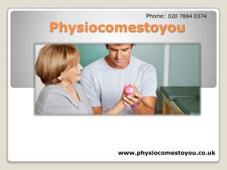 Acupuncture physiotherapy Treatement-physiocomestoyou.co.uk!