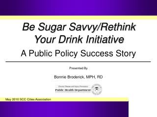 Be Sugar Savvy