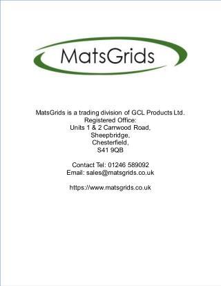 Black X-Grid® Gravel Driveway Installation - Case Study
