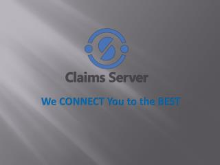 Welcome to Claims Server. The only place for Claims information