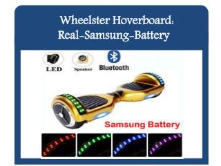 Hoverboard Real-Samsung-Battery