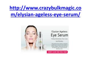 Elysian Ageless Eye Serum