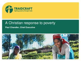 A Christian response to poverty