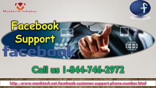 Is Facebook Support perfect for me 1-844-746-2972?