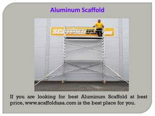 Mobile Scaffolds