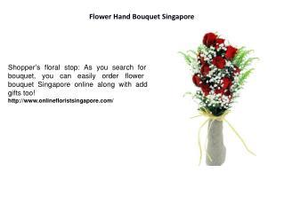 Flower Hand Bouquet Singapore