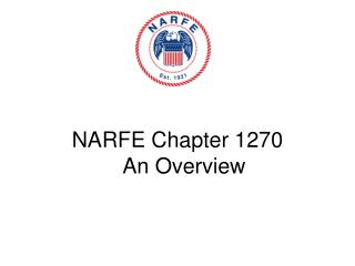 National Active and Retired Federal Employees Woodbridge Chapter 1270