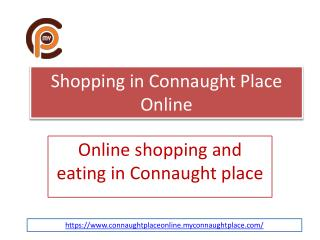 Connaught Place Online