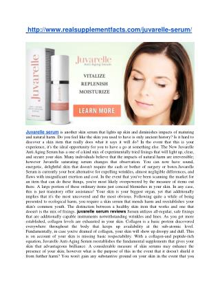 http://www.realsupplementfacts.com/juvarelle-serum/