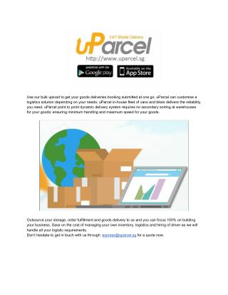 uParcel - Outsource Logistics Services Providers