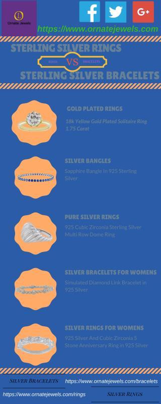 Sterling Silver Rings | Sterling Silver Bracelets