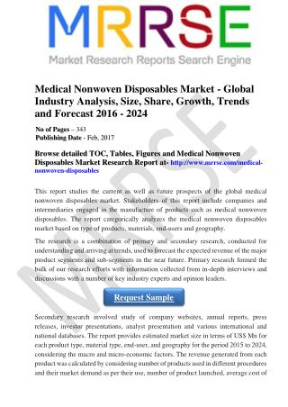 Medical Tourism Market - Malaysia Industry Analysis, Size, Share, Growth, Trends, and Forecast 2016 - 2024