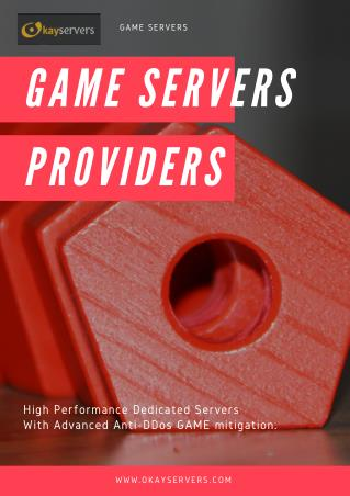 Game Servers Providers