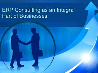 ERP consulting as an integral part of businesses