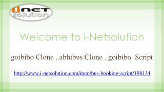 goibibo Clone | abhibus Clone | goibibo  Script