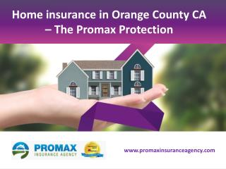 Home insurance Orange County