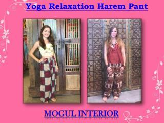 Yoga Relaxation Harem Pant