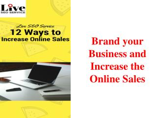 12 Ways to Increase Online Sales