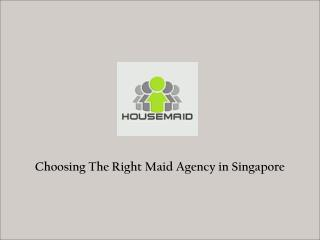Filipino Maids Singapore