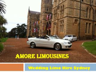 Wedding Limo Hire Sydney