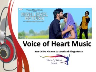 Latest Punjabi & Haryanavi Songs Download Online @ Voiceofheartmusic